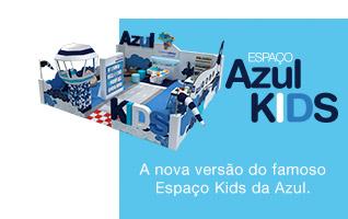 Espaço Azul kids A nova versão do famoso Espaço Kids da Azul.