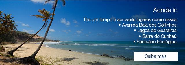 Aonde ir: Tire um tempo e aproveite lugares como esses: • Avenida Baía dos Golfinhos. • Lagoa de Guaraíras. • Barra do Cunhaú. • Santuário Ecológico. -Mirante do Chapadão. Saiba mais