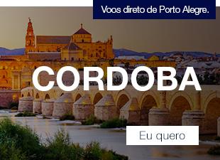 Voos direto de Porto Alegre. Cordoba. Eu quero
