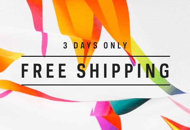Free global shipping on orders over £100/$145/€125/195AUD for 3 days only at Farfetch.