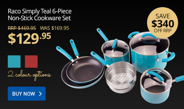 Huge saving on top cookware sets Raco, Stanley Rogers, Circulon, Anolon, and Scanpan at GraysOnline.com