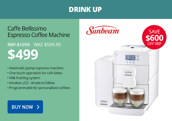 Save up to $600 off on mega Sunbeam sale just for 48 hours only at GraysOnline.com