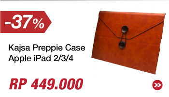 Kajsa Preppie Case - Apple iPad 2/3/4 - Oranye