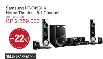 Samsung HT-F453HK Home Theater - 5.1 Channel