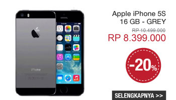Apple iPhone 5S - 16 GB - GREY