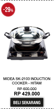 Midea SK-2103 Induction Cooker - Hitam