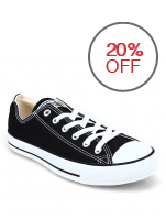 Converse CT AS Canvas OX Low Cut Sneakers - Hitam