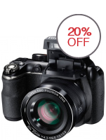 Fujifilm Finepix Camera S4500 - 14MP - 30x Optical Zoom - Hitam