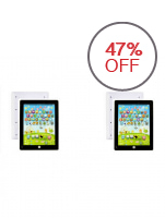 Kids Tablet Learning Toy (White), Set of 2