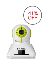 Sricam SP006 2-Way 720p Household IP Camera (White)