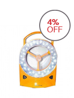 Rechargeable LED Light with Fan - (Yellow)
