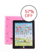 Kids  Tablet  Learning  Toy  (Pink)