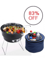 Greatnes D&D 1058 Barbecue Grill with Aluminum Skids