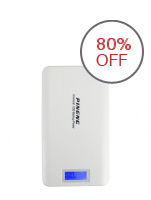 Pineng PN-999 20000mAh Power Bank (White)