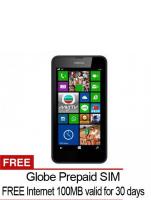 Nokia Lumia 636 8GB (Black) with FREE Globe SIM