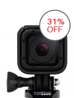 GoPro Hero 4 Session 8MP Action Camera (Black)