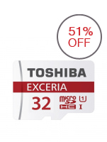 Toshiba Exceria 32GB Micro SD Card 48mb/s