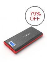Pineng PN-920 20000mah Powerbank (Black/Red)
