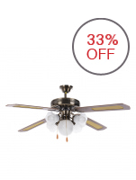 "American Heritage AHCF-ECON 52"" Ceiling Fan (Antique)"