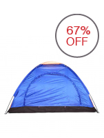 3 Person Dome Camping Tent (Blue)