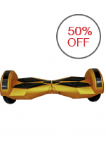 HoverTrax 2 Wheel Self Balance Electric Scooter with Built-in Bluetooth Speaker(Gold/Black)