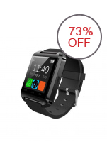 Modoex M8 Bluetooth Smartwatch (Black)