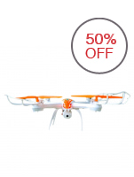 ET Q7 Aircraft Model Quadcopter with Camera (Multicolor)