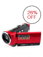 16MP HD 16x Optical Zoom Digital Camera Video Recorder (Red)