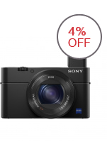 Sony Cyber-shot DSC-RX100 IV 20.1 MP Digital Camera (Black)