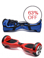 Oneline 999 heel Self Balancing Drifting Electric Scooter Board (Red) with Bag (Blue)