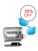 Electric Marinator with 2-Piece Silicon Pot Holder Bundle