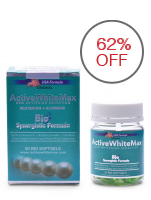 Active White Max Whitening and Slimming 1150mg Softgels, Bottle of 50