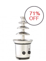 4 Layer Chocolate Fountain Large (Silver/Stainless)