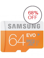 Samsung Evo MB-MP64D 64GB microSDXC Card