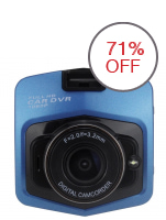 M001 Full High-Definition Car Blackbox DVR (Blue)