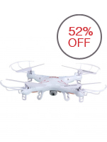 Syma X5C HD Camera Quadcopter Drone White