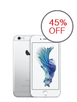 Apple iPhone 6s 64GB (White/Silver)