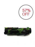 No. 68 Type Rechargeable Cree LED Flashlight (Camouflage)