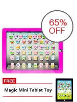 Tickle Ypad Multimedia Learning Computer Toy Tool Pink with FREE Magic Mini Tablet Toy
