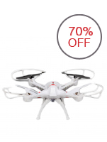 Scout A8 2.4G Skywalker FPV Drone with 2.0MP Camera (White)