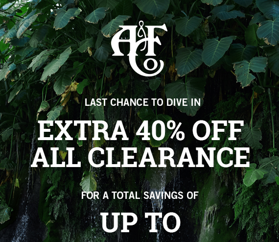 Extra 40% Off Clearance for Savings up to 70% Off Code: 11294