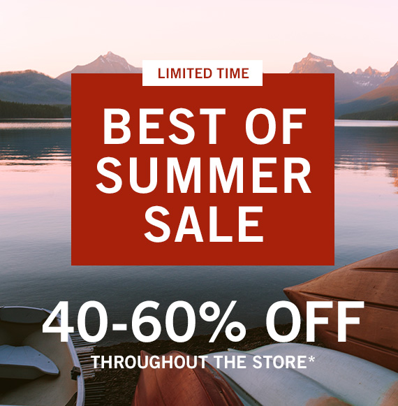 40-60% Off Throughout the Store*