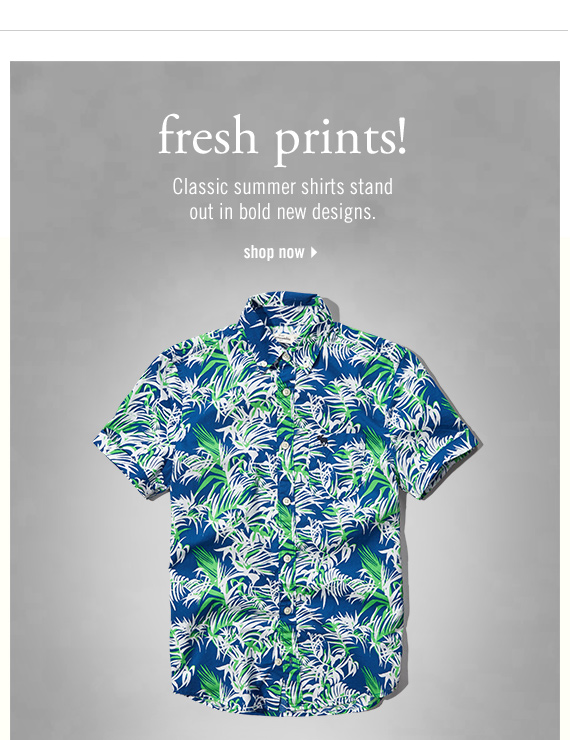 fresh prints! - shop now