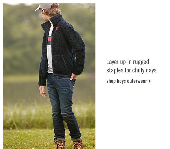 boys outerwear