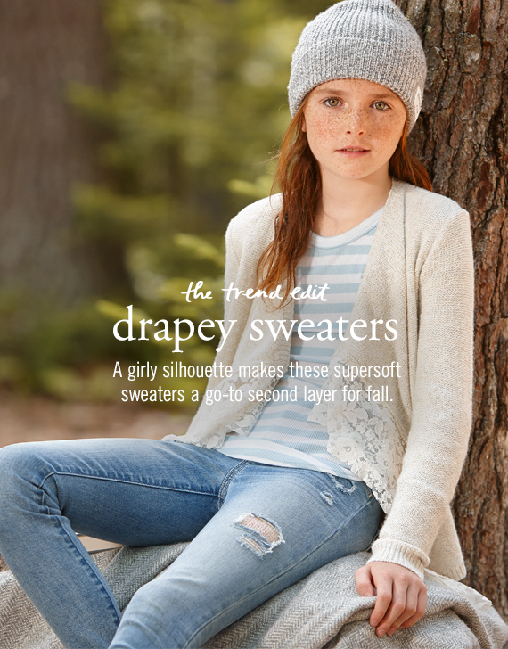 drapey sweaters