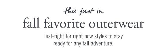 fall favorite outerwear