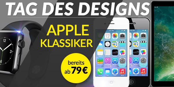 Apple Klassiker zum Tag des Designs