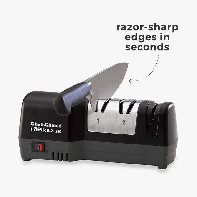 razor-sharp edges in seconds