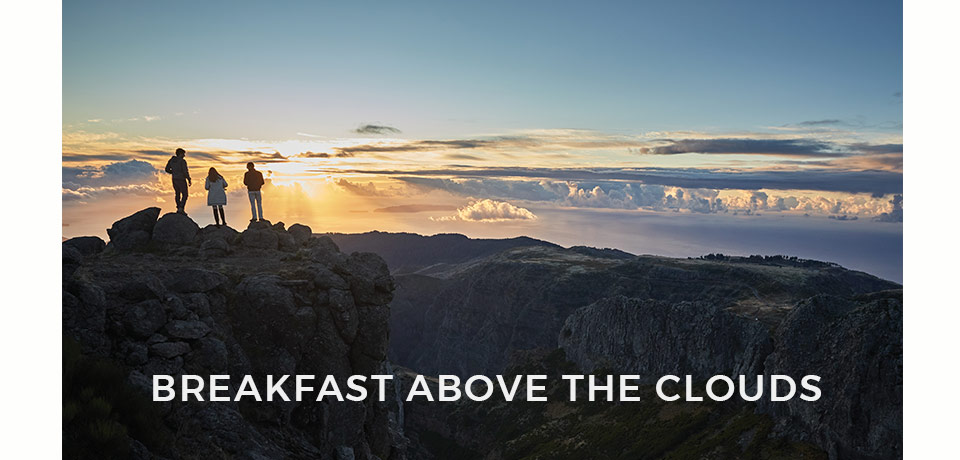 Breakfast Above the Clouds