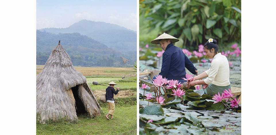 Live like a Lao local with a hands-on experience at a traditional farm